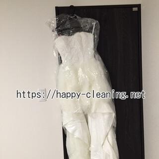 ウェディングドレスの保管